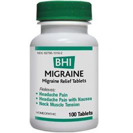 Heel BHI Migraine Homeopathic Formula 100 tablets