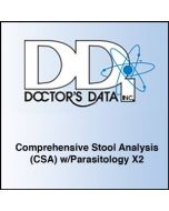 Doctor's Data Comprehensive Stool Analysis (CSA) w/Parasitology x2