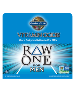 Garden of Life Multivitamin Raw One for Men 75 caps 1 per day