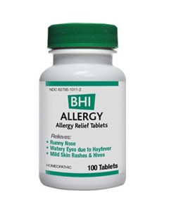 Heel BHI Allergy Homeopathic Formula 100 Tabs