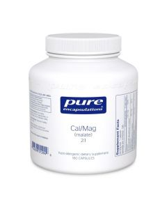 Calcium Magnesium (malate) 2:1 180's Pure Encapsulations