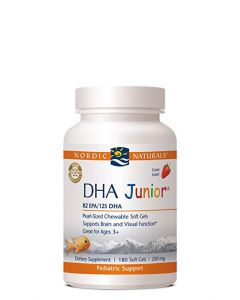 Nordic Naturals DHA Junior 180 soft gels 250 mg each
