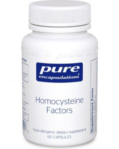 Homocysteine Factors 60 Capsules Pure Encapsulations