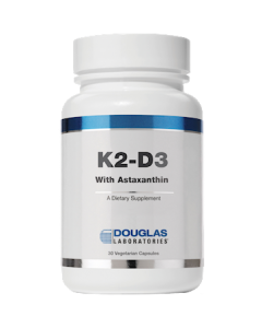 K2-D3 w/Astaxanthin 30 vegcaps Douglas Laboratories