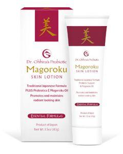 Essential Formulas Dr Ohhira's Probiotic Magoroku Moisture Cream 50ml
