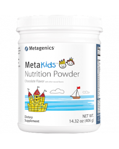 MetaKids Nutrition Powder Chocolate 406g Metagenics