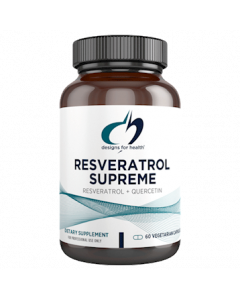 Resveratrol Supreme 60 vegcaps Designs For Health