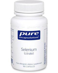 Selenium (Citrate) 200 mcg 180 vcaps