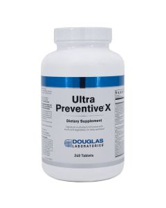 Ultra Preventive X 240 Tablets Douglas Laboratories