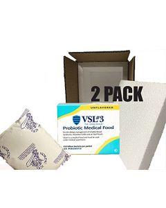 VSL#3 Probiotics Unflavored 30 packets (2 Pack) 450 Billion Strain