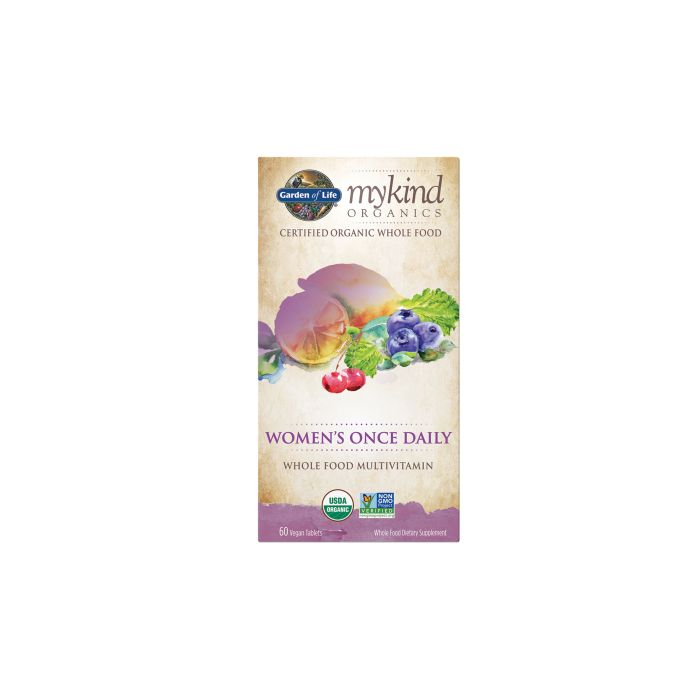 MyKind Organics Women's Once Daily Multi 60 Vegan Tablets