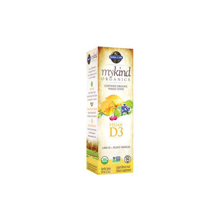 mykind Organics Vegan D3 Organic Spray Vanilla