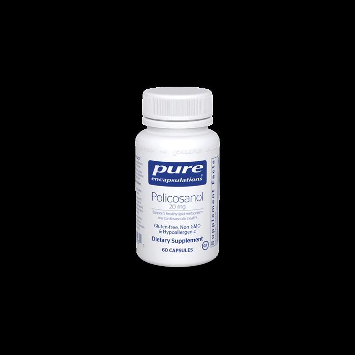 Policosanol 60 capsules Pure Encapsulations