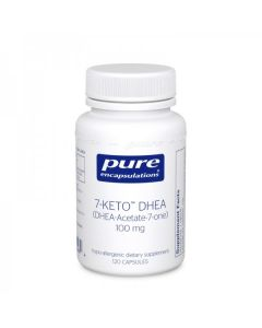7-KETO DHEA 100mg 120 caps Pure Encapsulations