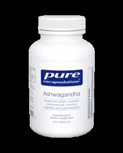 Ashwagandha 500 mg 120 Capsules Pure Encapsulation