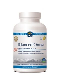 Nordic Naturals Balanced Omega w Evening Primrose Oil 180 soft gels