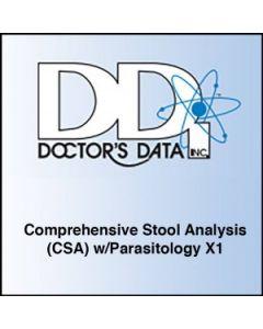Doctors Data Comprehensive Stool Analysis (CSA) w/Parasitology x1