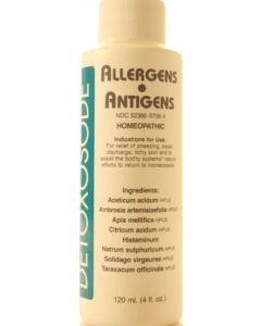 Detoxosode Allergens / Antigens 4 oz