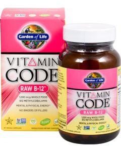 Garden of Life B-12 Raw Vitamin Code 30 caps