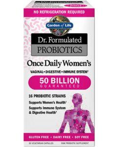 Dr. Formulated Probiotics Once Daily Women's 50 Billion CFU - 30 Vegetarian Capsules