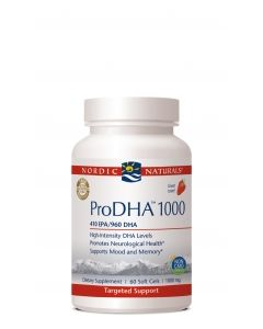 Nordic Naturals ProDHA 120 soft gels 500 mg each
