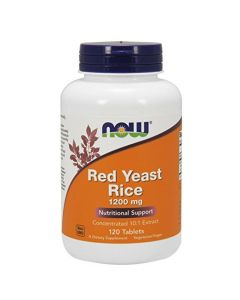 Red Yeast Rice from Now 1200mg 120 tabs