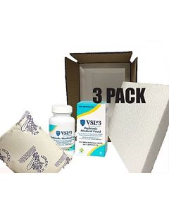 VSL#3 Probiotics Unflavored 30 pack (3 Pack) 450 billion strain